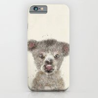 iPhone Cases featuring little koala by bri.buckley