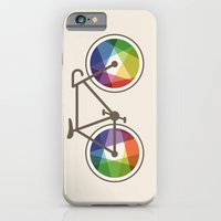 iPhone & iPod Case featuring Geometric Bicycle by Maps of Imaginary Places