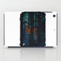 Winter Woods At Night iPad Case