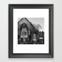 Abandoned Church In Chic… Framed Art Print