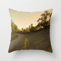 Parabolica Throw Pillow