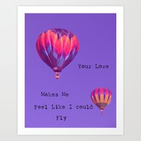 your love... Art Print