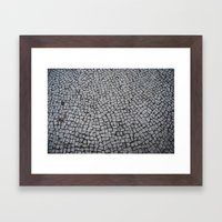 Rio's floor Framed Art Print