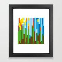 Rainforest Twilight Framed Art Print