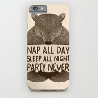 Nap All Day Sleep All Ni… iPhone 6 Slim Case