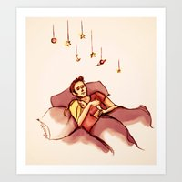 Swapped My Universe For … Art Print