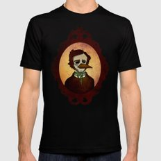 Prophets of Fiction - Edgar Allan Poe /The Raven Mens Fitted Tee Black SMALL