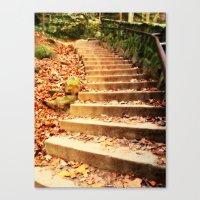 Enchanted Staircase Canvas Print