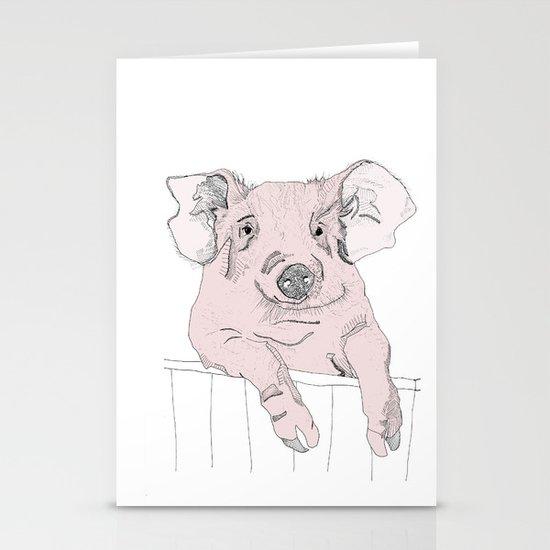 Piggywig Stationery Card