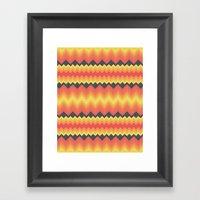 I've Never Dipped A Dodg… Framed Art Print