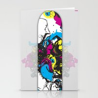 Sk8 deck Wall Art Stationery Cards