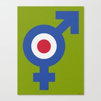 MODS Canvas Print