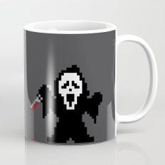 Scream Pixels Mug