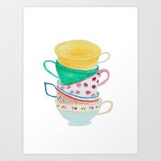 High Tea Art Print