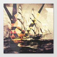 When Your Ship Comes In Canvas Print