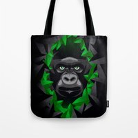 Shy Green Eyes Tote Bag