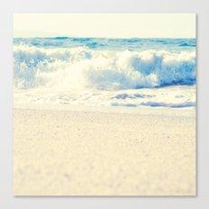 Beach Gold Canvas Print