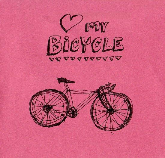 Love my Bicycle Art Print