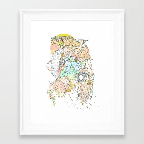 seventeenth daydream Framed Art Print