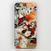 Cat Vs. Robot iPhone & iPod Skin