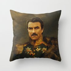 Tom Selleck - Replacefac… Throw Pillow