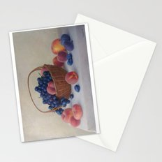 Still life with fruit Stationery Cards