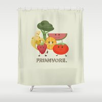 Fruity Shower Curtain