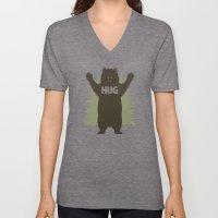 Bear Hug Unisex V-Neck
