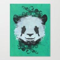 Pretty Panda Canvas Print