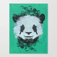 Pretty Panda Canvas Print