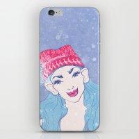 Selfie Girl_11 iPhone & iPod Skin