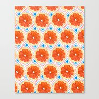 Citrus/Geo Canvas Print