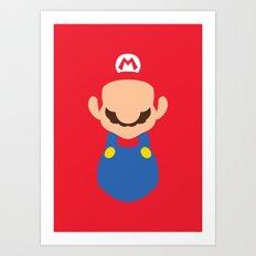 Mario - Mario Art Print