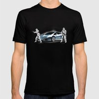 Lamborghini Troopers Mens Fitted Tee Black SMALL