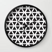 Dreieck Wall Clock