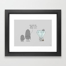 The Daily Grind Framed Art Print