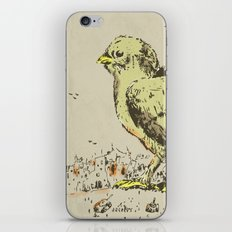 feel the earth tremble (or monster chick) iPhone & iPod Skin