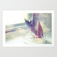 memories of flight Art Print
