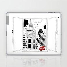 London window Laptop & iPad Skin