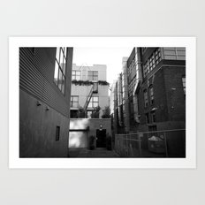 SF Back Alley Art Print