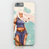 iPhone & iPod Case featuring Rima The Jungle Girl by Reg Lapid