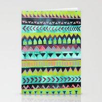 PATTERN {Tribal Stripe -… Stationery Cards