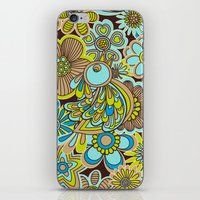 welcome birds to...(brown).  iPhone & iPod Skin