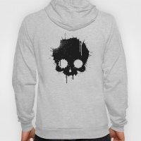 Splattered Skull Hoody