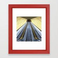 Retro Metro Framed Art Print