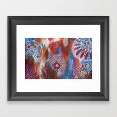 Abstract Mandalas Framed Art Print