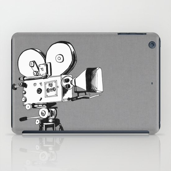 vintage filming iPad Case