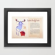 Framed Art Print featuring Real Monsters- Borderlin… by Zestydoesthings