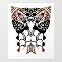 Sea Shell Creature Collection Art Print