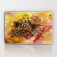 Abstract Acrylic Paintin… Laptop & iPad Skin